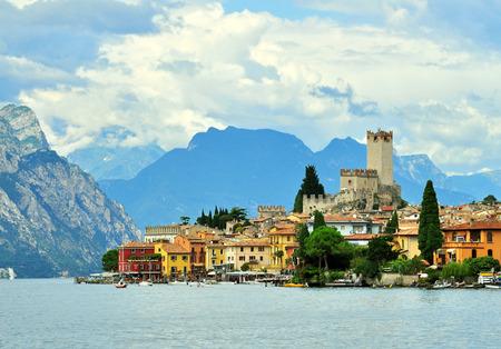 ガルダ湖、イタリア マルチェージネ