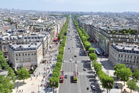 elysees: Champs elysees, Paris, France