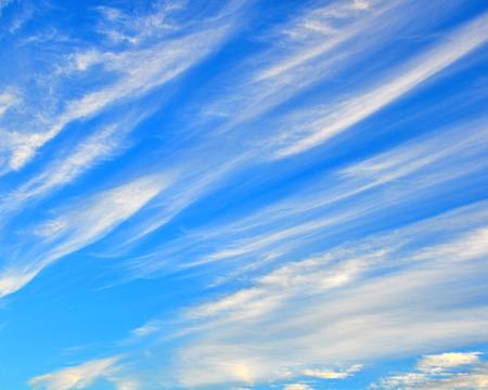 streaky: Blue cloudy sky