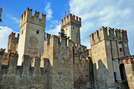 sirmione: Sirmione castle, Italy