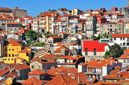 oporto: Oporto old town, Portugal