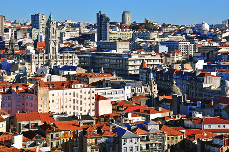 oporto: Oporto city centre, Portugal Stock Photo