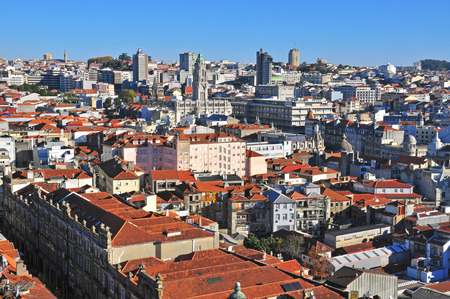 oporto: Oporto downtown, Portugal Stock Photo