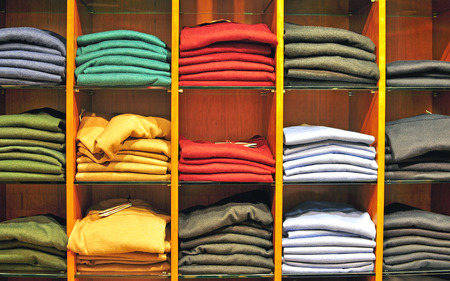 pullovers: Clothes in the department store