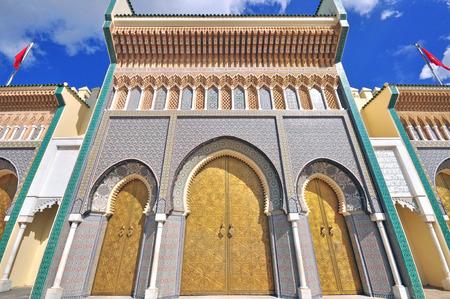 モロッコ ・ フェズの王宮