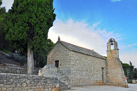 Далмация: Old chapel in Split, Dalmatia, Croatia
