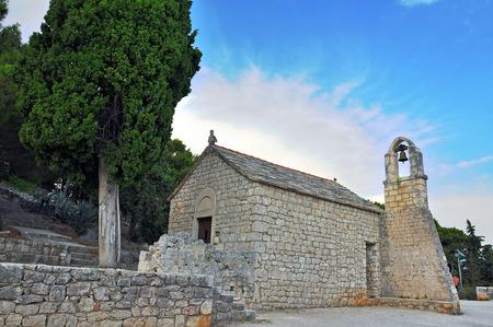 dalmatia: Old chapel in Split, Dalmatia, Croatia