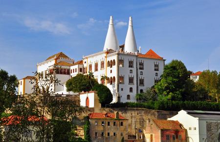 sintra: Sintra castle, Portugal