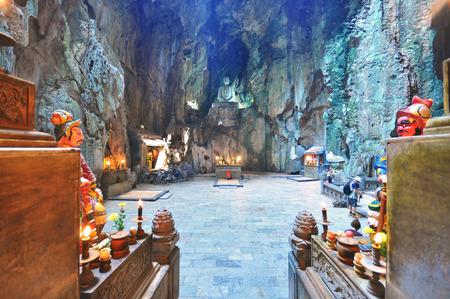 大理石の洞窟、五行山、中央ベトナム 写真素材