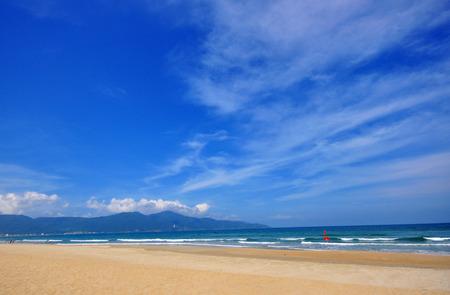 ベトナム ・ ダナンのビーチ 写真素材