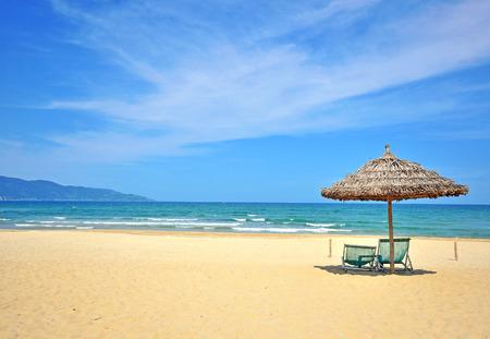 Beautiful beach on South China sea Standard-Bild
