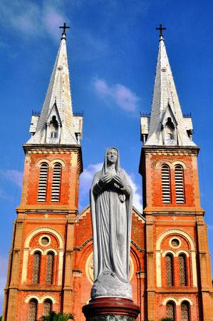 The landscape of Saigon: Notre Dame, Sài Gòn, Việt Nam Kho ảnh