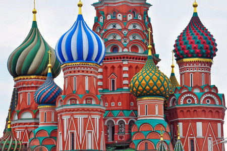 domes: Domes of Moscow cathedral, Russia Editorial