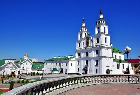 belarus: Cathedral square, Minsk, Belarus