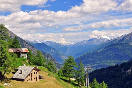 aosta: House in mountains, Aosta, Italy