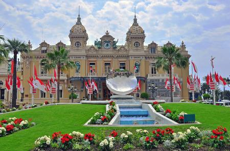 carlo: The grand casino of Monte Carlo, Monaco Editorial