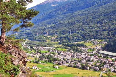 aosta: Alpine village, Aosta, Italy