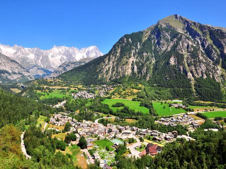 イタリア、ヴァル ・ ダオスタ州風景