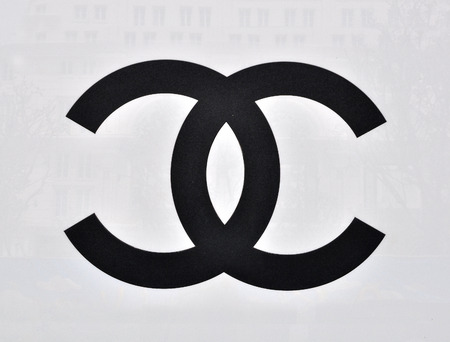 chanel: HO CHI MINH, VIETNAM - MARCH 9: Logotype of Chanel flagship store in Ho Chi Minh city centre on March 9, 2015. Chanel is a world famous fashion brand founded in France. Editorial