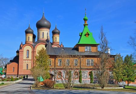 russian orthodox: Russian orthodox church in Puhtica, Estonia