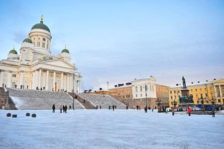 helsinki: Helsinki, Cathedral square, Finland
