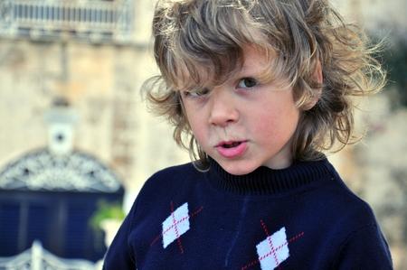 shaggy: Portrair of a shaggy boy