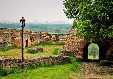 serbia: Kalemegdan park in Belgrade, Serbia Stock Photo