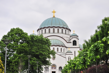 聖サーヴァ教会、三位一体のチャペル、ベオグラード、セルビア