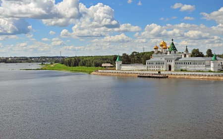kostroma: Summer view of Ipatiev monastery, Russia Stock Photo