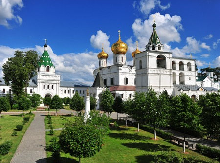 kostroma: View of Hypatian orthodox monastery, Kostroma, Russia Stock Photo