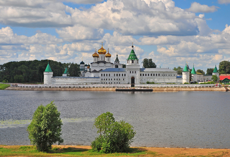 kostroma: View of Ipatiev monastery in Kostroma, Golden ring, Russia