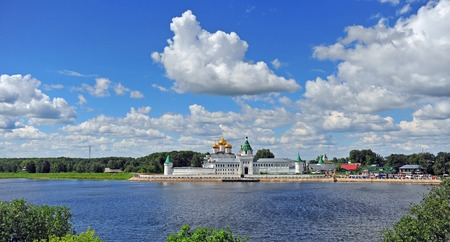 Scenic view of Hypatian monastery, Russia
