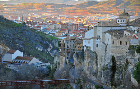 mancha: Old town of Cuenca, Castile La Mancha, Spain