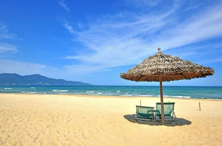 ベトナム ダナン砂ビーチ市