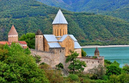 アナヌリ教会や要塞、ジョージアのパノラマ
