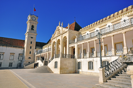 Architecture of the University of Coimbra, Portugal
