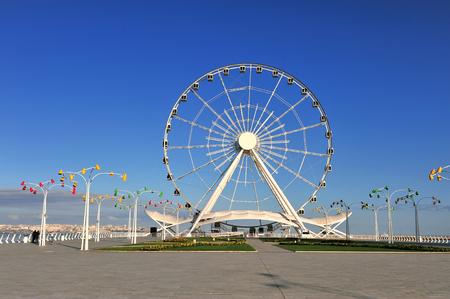 View of the ferris wheel, Baku, Azerbaijan