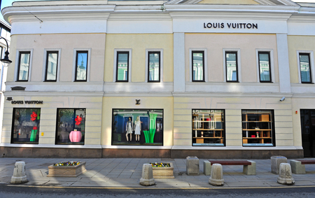 MOSCOW, RUSSIA - MAY 02: Louis Vuitton flagship store, Moscow on May 2, 2018. Éditoriale