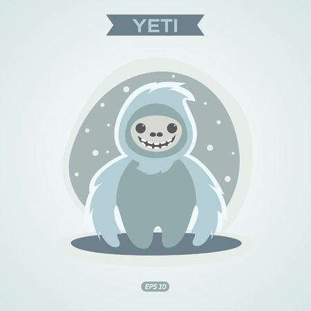 yeti: Yeti illustration graphic Illustration