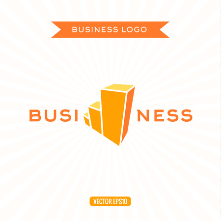 stage chart: Business icon flat chart stage growth vector illustrations