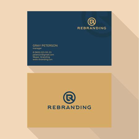 qualitative: Qualitative elegant Business Card vector logos abstract professional layout