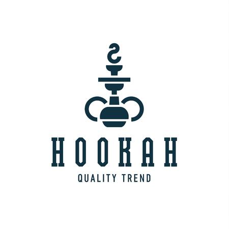 Hookah smoking shisha tobacco brand for your company, a quality   art Illusztráció