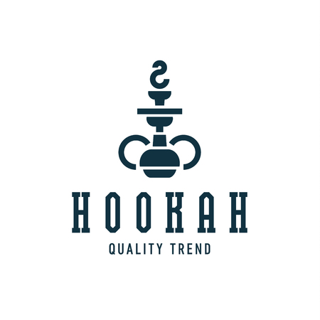 Hookah smoking shisha tobacco brand for your company, a quality   art Illustration