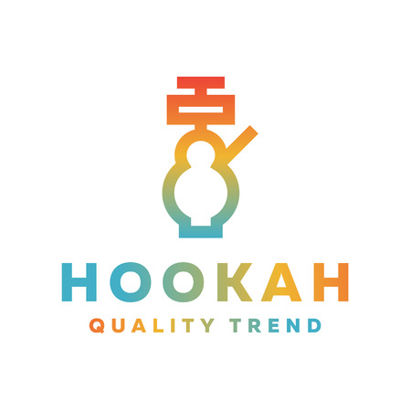 mixtures: Shisha hookah for tobacco smoking and smoking mixtures for your company brand, quality gradientyny contour   flat