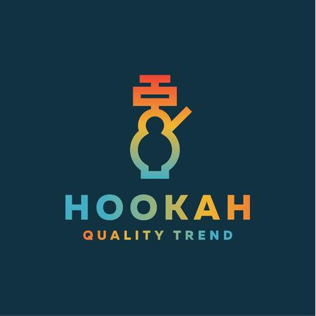 Shisha waterpijp voor het roken van tabak en mengsels van uw bedrijf merk, kwaliteit gradientyny contour