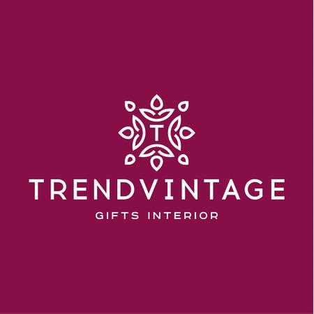 decorative letter: Letter T Monogram pattern trendy vintage   vector quality