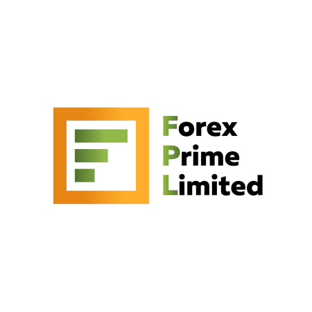 business trending: F letter forex trending quality business  vector sign Illustration