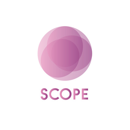 imposition: Circles background illustration spheres  business sign abstract imposition of transparency art Illustration