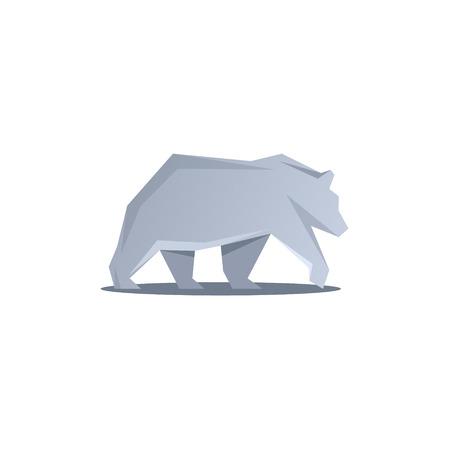 moved: Polar Bear logos the faces of modern design vector illustration animal predator art Illustration