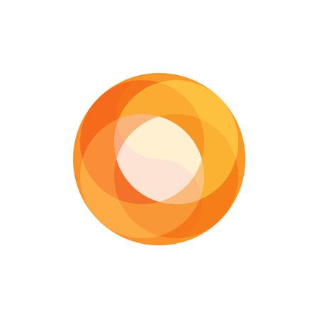 fireball: Fireball Abstract illustration for business logo overlay art